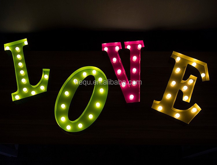 Love Led Wall Decor : Love decor led light outdoor large letters buy