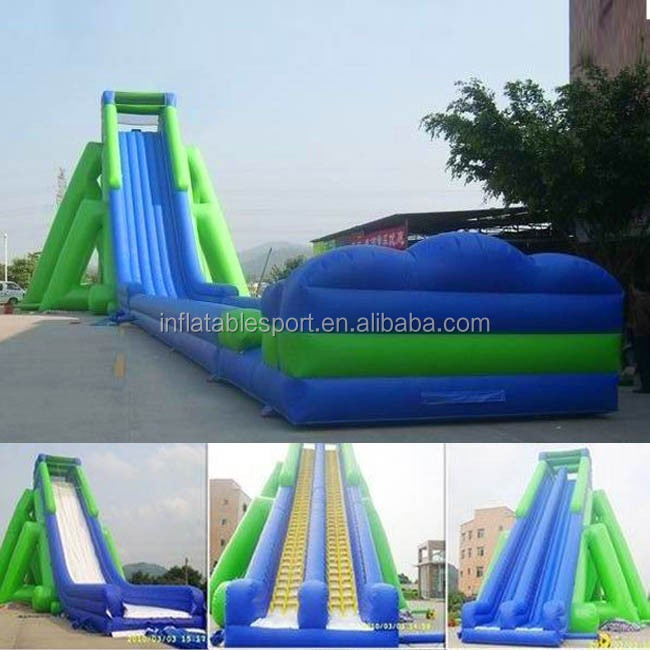 Inflatable Water Slide Dubai: Best Quality Steep Inflatable Water Slide Giant Inflatable