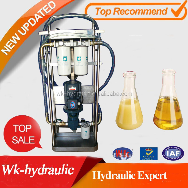New Hydraulic Fluid Water Remover