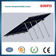 Adjustable solar PV mounting brackets for solar module installation
