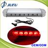Customized Red Blue White Amber LED light police used police LED roof light bars