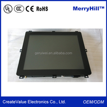"""Open Frame 1280*1024 Square Screen 5:4 10""""12""""14""""15""""17""""19""""Rackmount LCD Touch Monitor"""