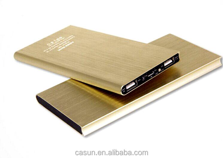Ultrathin Portable PowerBank / travel charger 10000mah real capacity