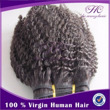 Best Selling Items Real Natural Unprocessed Afro Curl Virgin Mongolian Hair Weaving