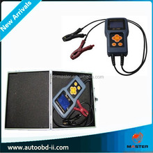 SC-100 Digital Battery Automobile Battery Tester for charge testing/Car battery tester/auto start battery analyzer