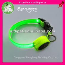 Small dog collar with LED lights / LED smart collar for pet