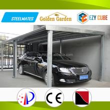 China Carport waterproof diy metal structure shed garage