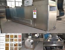electric roaster machine DYC-500 continue roaster for sunflower seeds, waluts, soybean, pecan, pine, buckwheat, barley