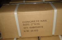 phosphate Grey galvanized concrete steel nail manufacturer,supplier