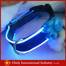 Wholesale 30% Discount LED USB Rechargeable Dog Collars Pet Collars & Leashes