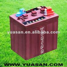 6V225AH Lead Acid Deep Cycle Golf Cart Battery -T105