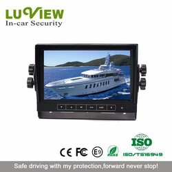 7 inch stand alone reversing rearview car tft lcd monitor with TV function