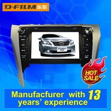 9 inch double din car DVD player with GPS for Toyata Camry 2012