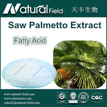 Factory Supply 100% Pure Natural Saw Palmetto Extract Fatty Acid 90%