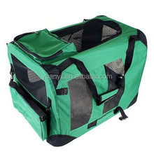 Dog crate wholesale/cheap dog carrier bags/dog cage fabric/sturdy bag pet carrier folding