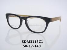 2015 acetato de Moda marco de madera SDM3113C1