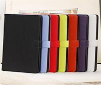 Colorful OEM Factory price 2013 Crazy horse style official design smart cover leather case for ipad
