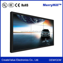 Ultra Wide Narrow Bezel 42 inch 55 inch 65 inch 70 inch Seamless Display LCD Video Wall