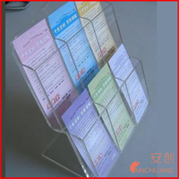 Acrylic Easel Book Holder Rack Stand_Acrylic wall mount brochure holder
