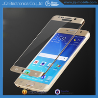 Full Cover 2.5D Roud Edge anti-scratch 9H tempered glass screen protector for samsung galaxy s6 edge
