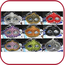 custom full face mask adult sex mask leather carnival party mask PGAC-0714