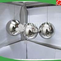 metal christmas ball with wire for indoor and outdoor hanging decoration