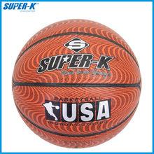 Super-K 7# PU Basketball (SKB047)/high quality size 7 PU basketall/hot sale basketball