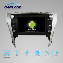 8in Android touch screen 2 din toyota camry 2012 Europe/Asia version with GPS, iPOD, TV, Wifi, 3G, mirror link functions