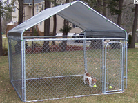 China hot sale safe cheap chain link dog kennels