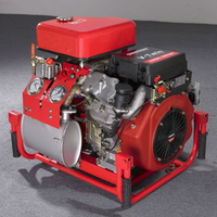 BJD18 Portable Diesel Fire Pump