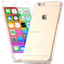 0.3mm Super Slim Crystal Clear Soft TPU Gel Case For Apple iPhone 6 4.7 inch Ultra Thin Back Cover For iPhone 6 Plus 5.5''