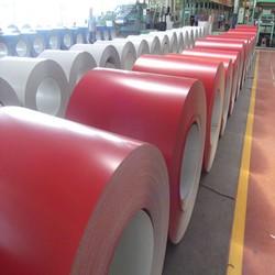 color varnished steel colorful coated steel coil