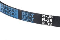 Rubber belt wrapped -belt B-38