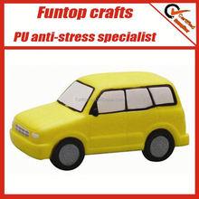 Espuma macia carro pu bola anti stress personalizada vans bolas de stress navio pu anti stress brinquedos