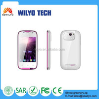 WC3F1cheap 3.5inch MT6572 3g Unlocked Gsm Boost Mobile Phones Wholesale