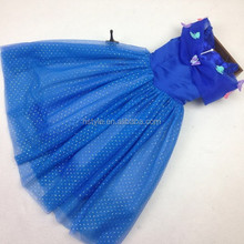 2015 Cinderella Kids dress for girl Cinderella costume SU054