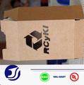 personalizado reciclado pequena caixa de papel kraft