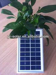 high efficiency and cheap price 1w to 10w mini solar panel with batteries