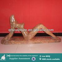 Indoor Abstract Figure Marble Statue