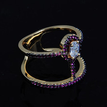 2015 newest model of the double ring for party