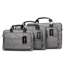 Shoulder Laptop Bag/Laptop messenger bag/Multi-functional Suit Fabric Portable Notebook Computer Sleeve Case Handbag Laptop Bag