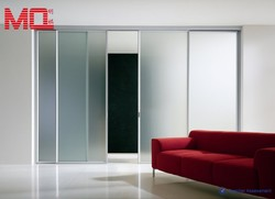 Home use or commercial use frosted glass bathroom door , bathroom sliding door