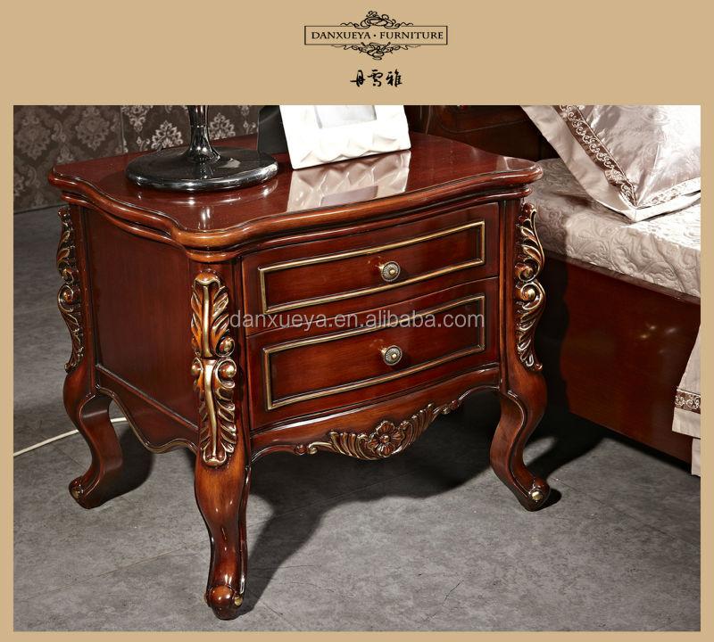 style am ricain design de lit en bois de chambre coucher tv stand lots de literie id de. Black Bedroom Furniture Sets. Home Design Ideas