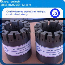 Exported quality!!! diamond core wireline drilling bit for hard rock