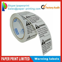 """2"""" x 2"""" Suffocation Warning Peel and Stick Labels"""