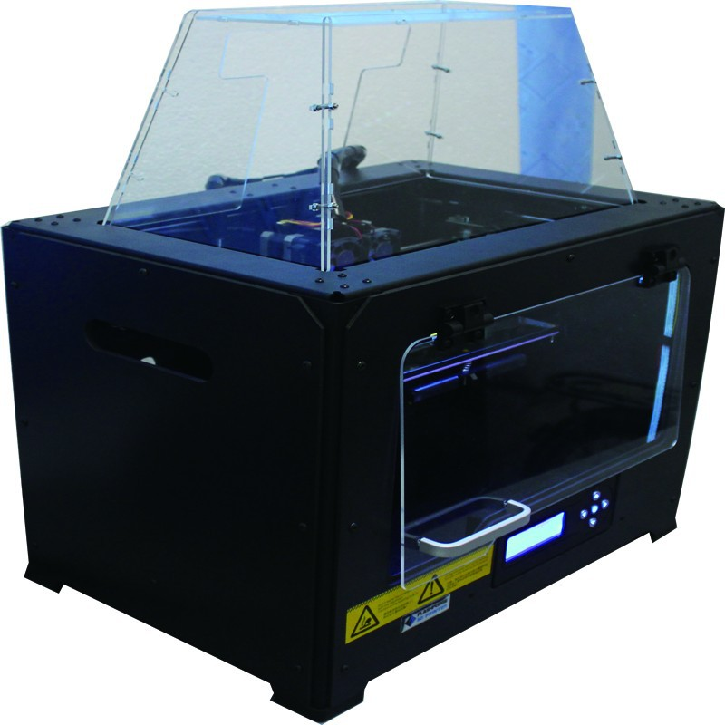 FlashForge Dual Extruder 3D Printer Creator Pro Metal Frame Structure and Optimized Build Platform  Acrylic Covers