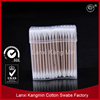 high quality wooden stick industrial Alcohol Cotton Swab