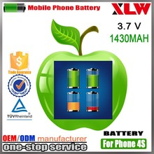100% New Quality Replacement Repair Parts Battery For Iphone 4S,For Iphone 4S Battery,For Battery Iphone 4S