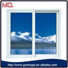 high quality pvc horizontal sliding storm windows in guangzhou