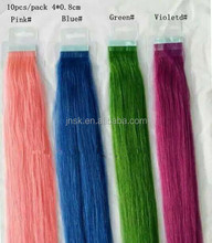 the beautiful and fashion colorful Brush glue hair extension